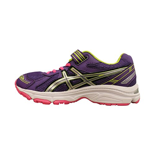 Asics Running Pre Galaxy 7 Ps Purp/Silv/Lime 35 Junior