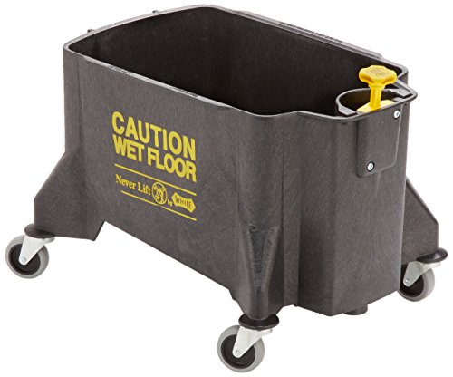 Impact 460 Neverlift Bucket with 3'' Casters, 46 qt Capacity, Gray by Impact Products