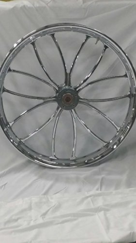 HARLEY DAVIDSON 26X3.5 CHROME PERFORMANCE MACHINE HEATHEN WHEEL