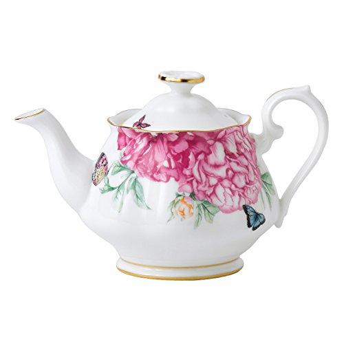 Royal Albert Miranda Kerr Friendship White Teapot 0.45L (Royal Albert Flatware Set)