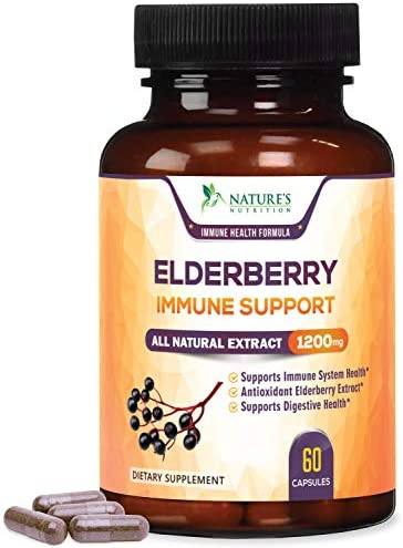 Elderberry Capsules Strength Immune Support product image