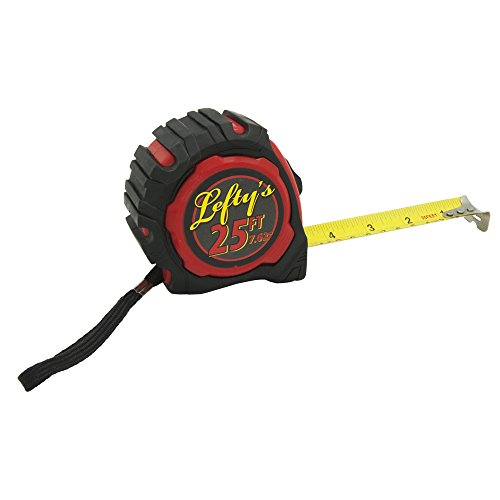 (Left-Handed Tape Measure with Rubber Guard 25')