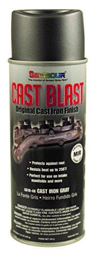Cast Iron Paint - Seymour CA16-48 Cast Blast Spray Paint