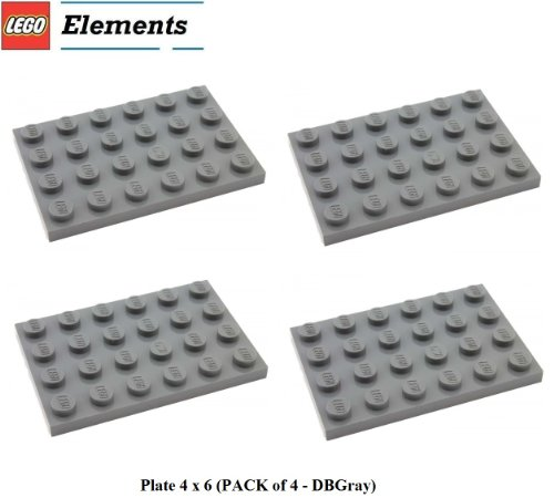lego-parts-plate-4-x-6-pack-of-4-dbgray