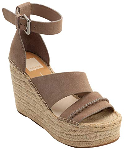 Dolce Vita Simi Suede Wedge Sandal, 10