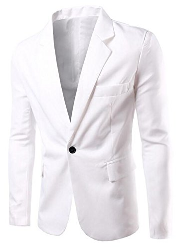 White Dress Coat - 9
