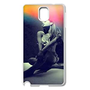Samsung Galaxy Note 3 N9000 2D Personalized Phone Back Case with Ariana Grande Image