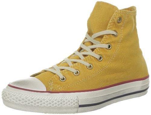 Converse Chuck Taylor All Star Fash Wash Hi, Baskets mode mixte adulte Jaune (Jaune/Or)