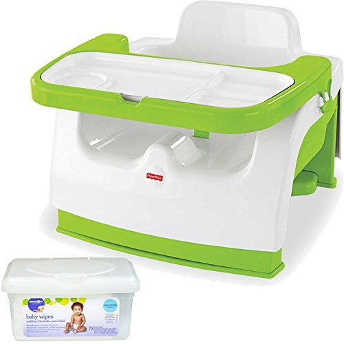 BABY 1ST BOOSTER SEAT WITH PLAY TRAY, GREEN - 5