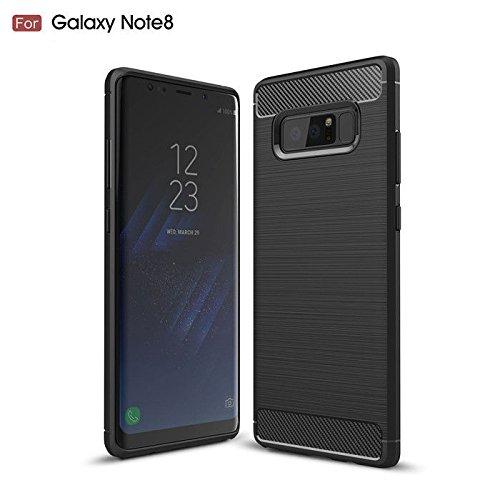 premium selection a0c6d 35bdc Amazon.com: Samsung Galaxy Note 8 case, Advent Black case is dust ...