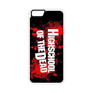 HIGHSCHOOL OF THE DEAD iPhone 6 4.7 Inch Cell Phone Case White MSU7158899