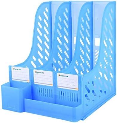 IAIZI Akten-Halter Bürobedarf Buchständer Einfaches Desktop-Ordner Ordner Storage Box Storage (Farbe: C) ZGHE (Color : B)