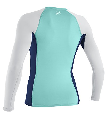 Oneill wetsuits uv sun protection womens skins long sleeve for Uv long sleeve shirt womens