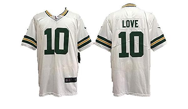 Camiseta de los hombres de fútbol americano uniforme Green ...