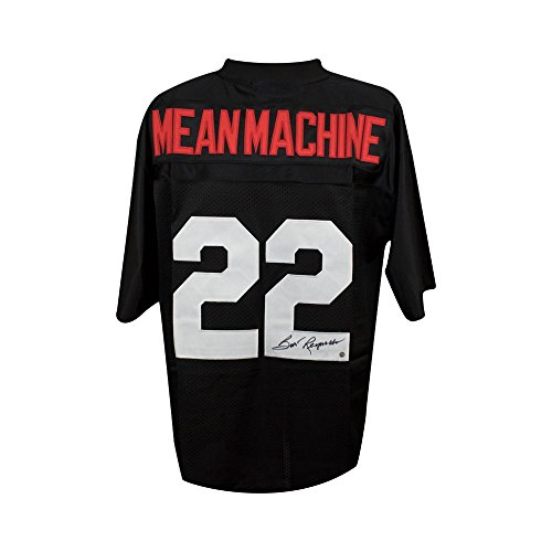(Burt Reynolds Autographed Mean Machine The Longest Yard Football Jersey Steiner)