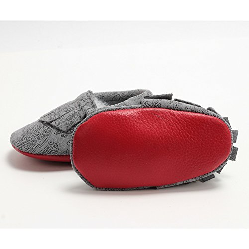 Leap FrogMoccasins Boots - Mocasines bota para niño Leopard E Lace up