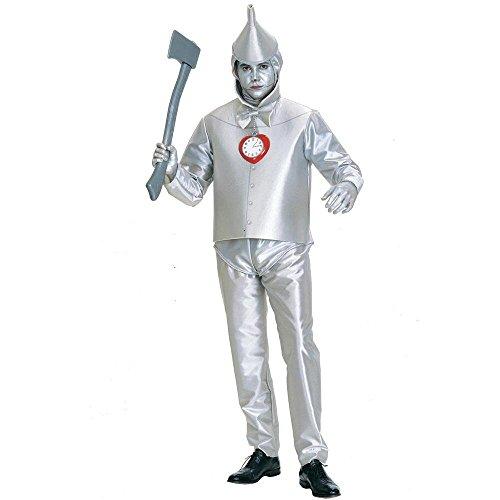 Warner Bros. Men's The Wizard of Oz Tin Man Plus Size Costume Plus Size (Wizard Of Oz Tin Man Costume)