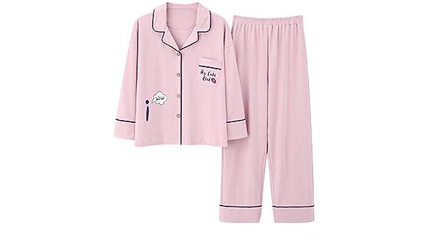 DUXIAODU Pijama de algodón para Hombres y Mujeres | no dañará ...