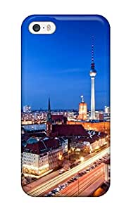 New Tpu Hard Case Premium Iphone 5/5s Skin Case Cover(berlin City )