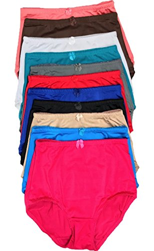 Lacy 4 Pack Women's High-Waist Tummy Control Girdle Panties (Extremestrong Girdle, 4X-Large)