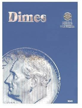 Dimes Plain 9043 Whitman New Folder by Rare Coins