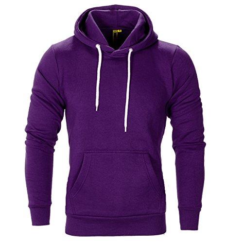 Fleece Pullover Hoody Violet Raiken Apparel Flex WpnTg4W60