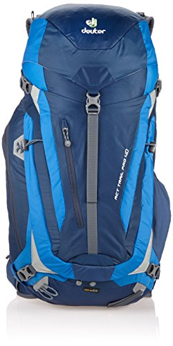 Deuter External Pockets - Deuter ACT Trail Pro 40 Ultralight Hiking Backpack, Midnight/Ocean