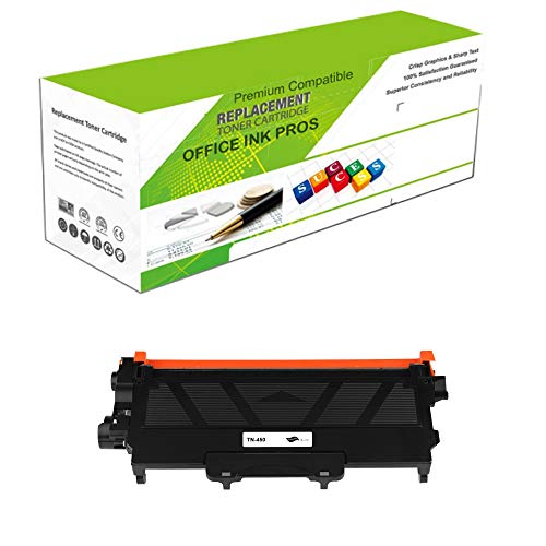 Premium Ink&Toner | Re-Manufactured Toner Cartridge Replacement for TN-450 Jumbo - Standard Yield Laser Printer Cartridge Compatible with Brother ()