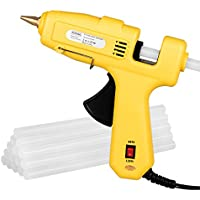 Antehome 60/120W Dual Power High Temperature Melt Glue Gun for DIY,Small Arts Craft Projects,Decoration or Gifts,Household