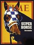 Photo TIME Magazine Cover Super Horse Secretariat 1973