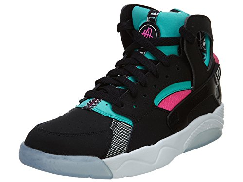 prices for sale outlet order NIKE Flight Huarache (GS) Hi Top Trainers 705281 Sneakers Shoes Black/Light Retro-pink Power clearance pay with paypal MSWAVfq0