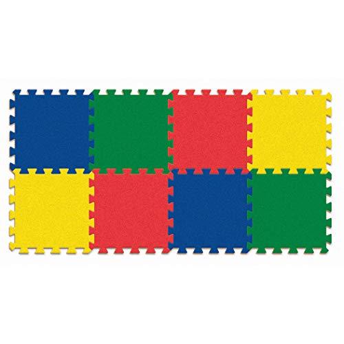 WonderFoam PACAC4355 Carpet Tiles, Solid Color Expansion Pack, 12