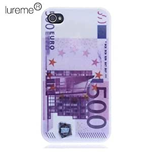 SHOUJIKE The Euro Printing Back Case for iPhone 4/4S