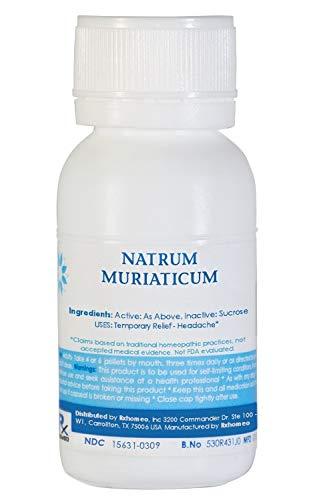 NATRUM MURIATICUM 200C - 750 Pellets (1Oz)