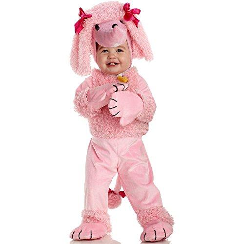 Underwraps Costumes Baby's Poodle, Pink, Medium -