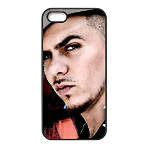 Pitbull Design Solid Rubber Customized Cover Case for iPhone 5 5s 5s-linda753