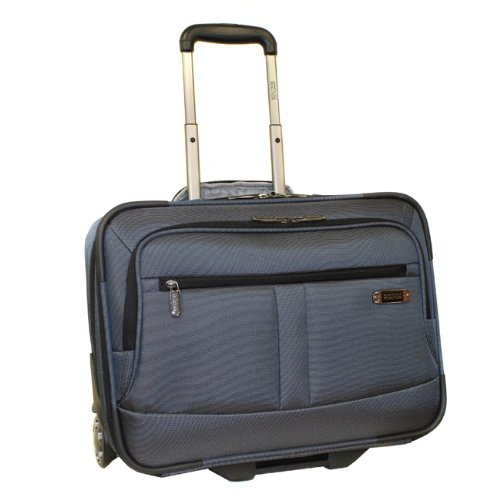 Kenneth Cole Triple Cross Wheeled Overnighter/Carry-On, Gray, One Size, Bags Central