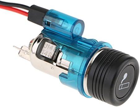 H HILABEE 電源プラグ シガレットライター ソケット コネクタ 防水カバー