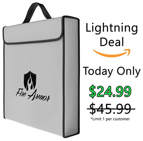 Fire Armor -Double Layer- Fireproof Money Bag (16