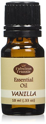 Vanilla Essential Oil - 10ml Great scent for the spa and home by Fabulous - Scented Oils Shampoo Essential