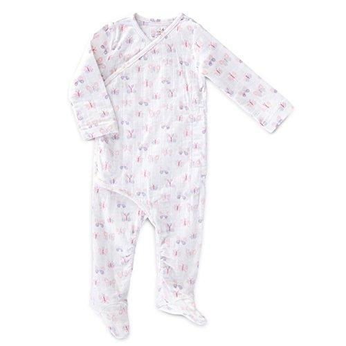 aden anais Baby Girls Newborn Long Sleeve