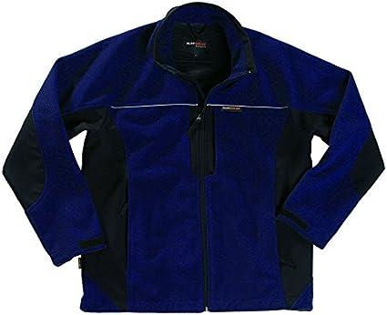 Black TuffStuff 277//BK-L Large Rockland Fleece//Soft Shell Jacket