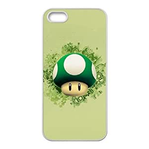Super Mario Bros iPhone 4 4s Cell Phone Case White 8You017401
