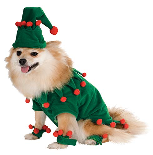 Elf Pet Costume, Small -