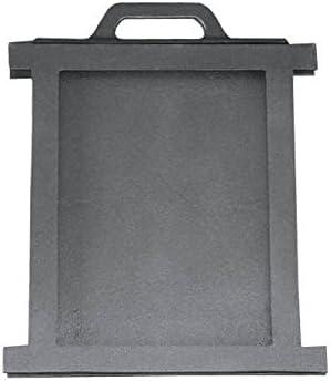 Regulador de aire con válvula de mariposa, para horno, pizza, pan, leña, horno de piedra, de hierro fundido, dimensiones: 255 x 280 mm
