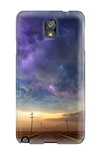 Pauline F. Martinez's Shop 1866042K22360457 Cloud Fashion Tpu Note 3 Case Cover For Galaxy