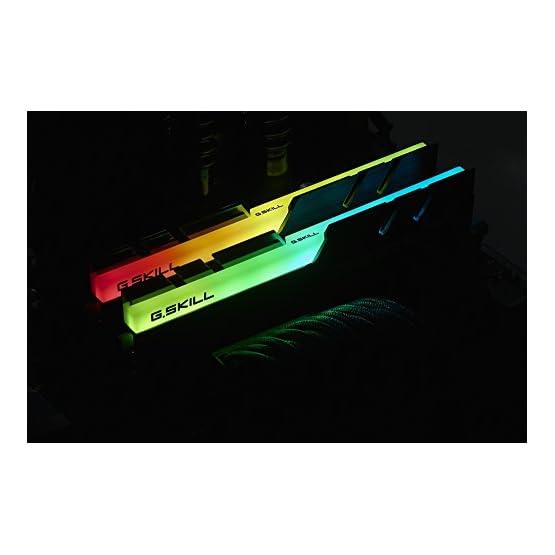 G.SKILL F4-3000C16D-16GTZR Trident Z RGB Series 16GB, 288-Pin SDRAM DDR4-3000Mhz (PC4 24000) Desktop Memory 41Jqi3R f%2BL. SS555