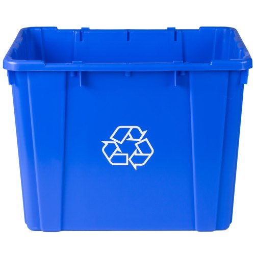 Recycling Bin 14Gal CONTINENTAL COMMERCIAL Recycling Containers (Curbside Recycling Containers)