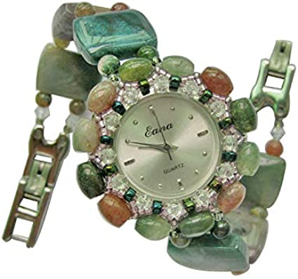 HWCOO Reloj Pulsera de Cristal Suministro Directo de ágata de Cristal Natural Modelos Femeninos.