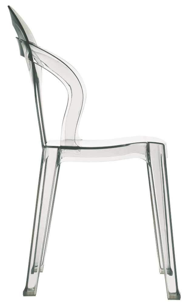 Original silla Tití apilable de diseño y fabricación italiana. Aporta diseño, clase y elegancia.
